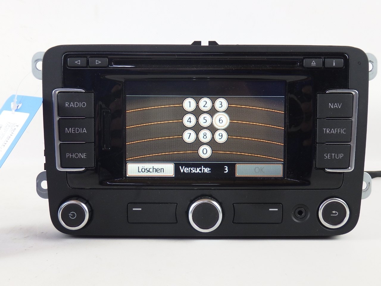 2k0035279b satnav navigation system rns 315 vw tiguan 5n ebay. Black Bedroom Furniture Sets. Home Design Ideas