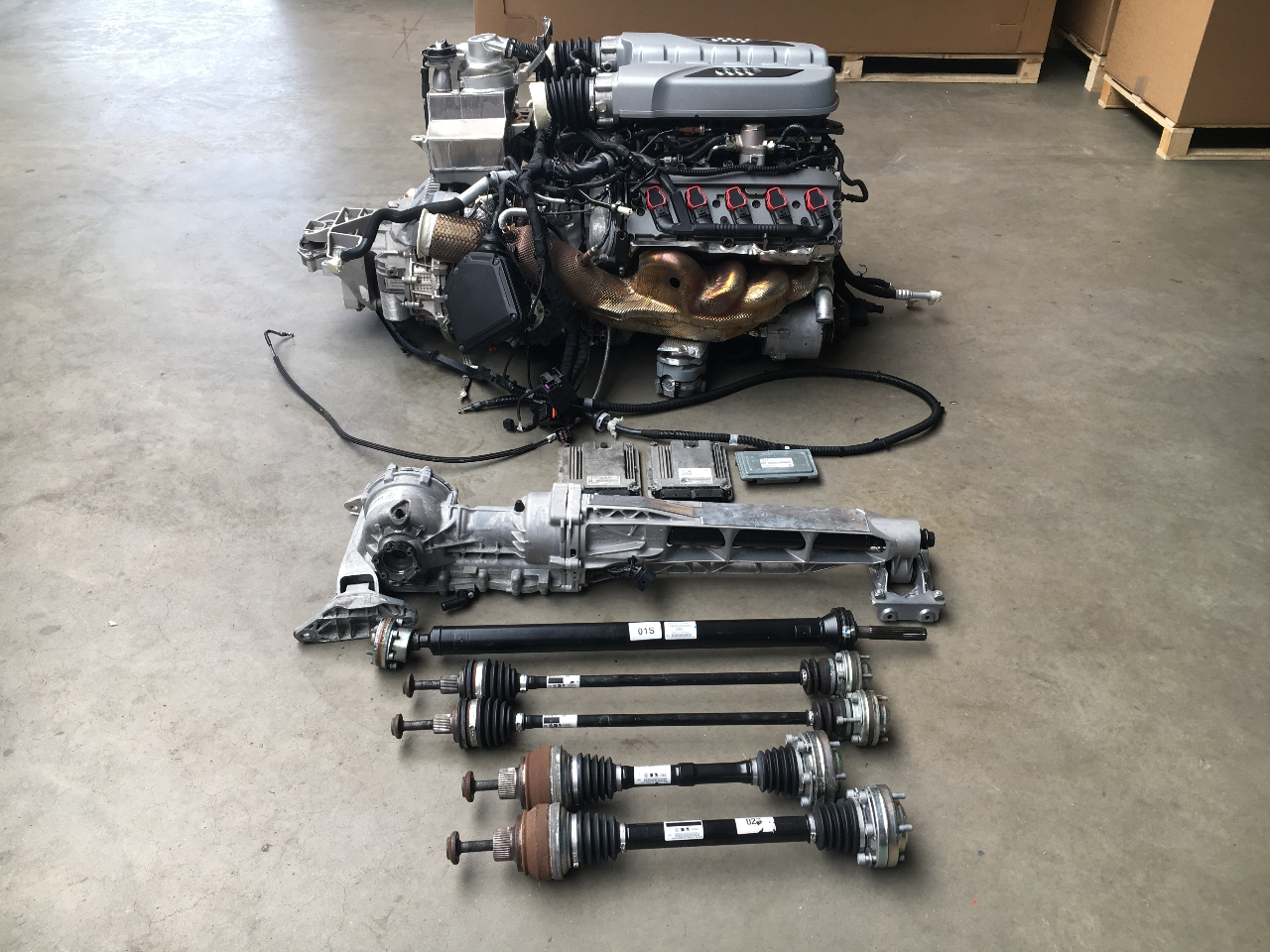 csp cspb motor moteur engine rmp dsg gearbox conversion kit audi r8 4s ebay. Black Bedroom Furniture Sets. Home Design Ideas