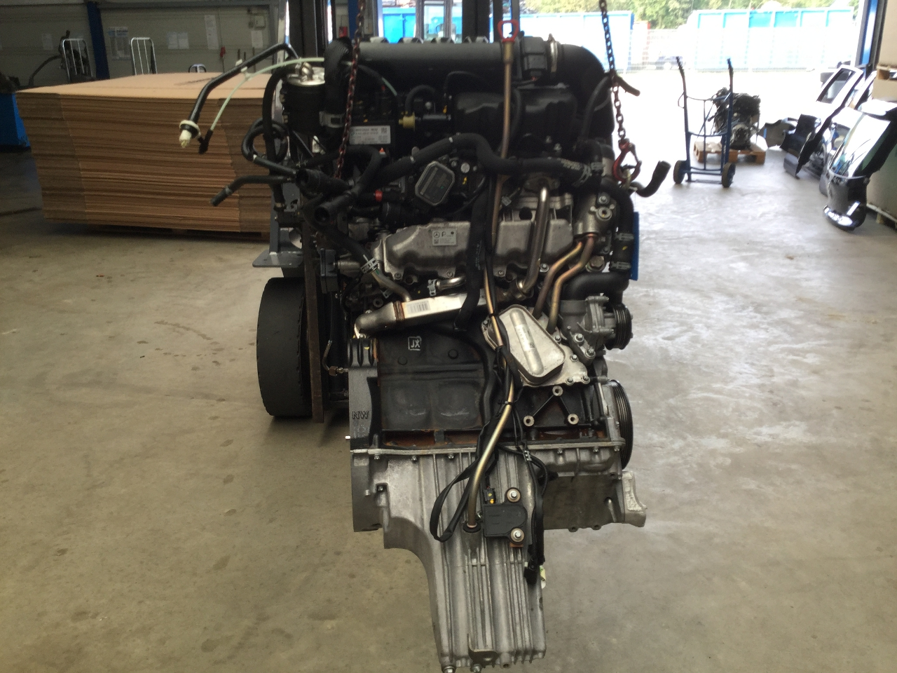 motor moteur engine mercedes benz a class w169 a 180 cdi 80 kw 109 p ebay. Black Bedroom Furniture Sets. Home Design Ideas