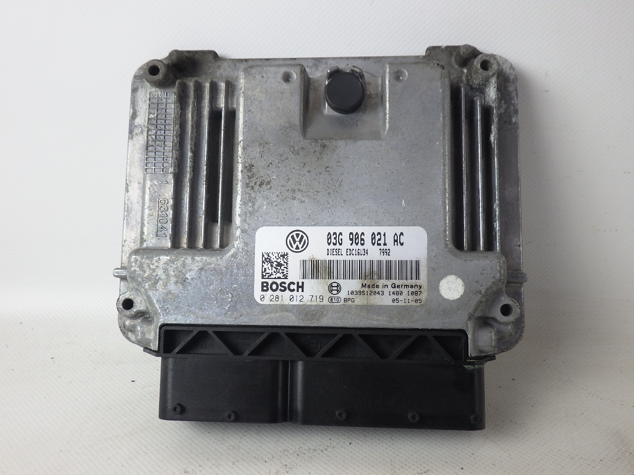 03g906021ac ecu control unit engine vw passat variant 3c5 b6 2 0 tdi 103 kw ebay