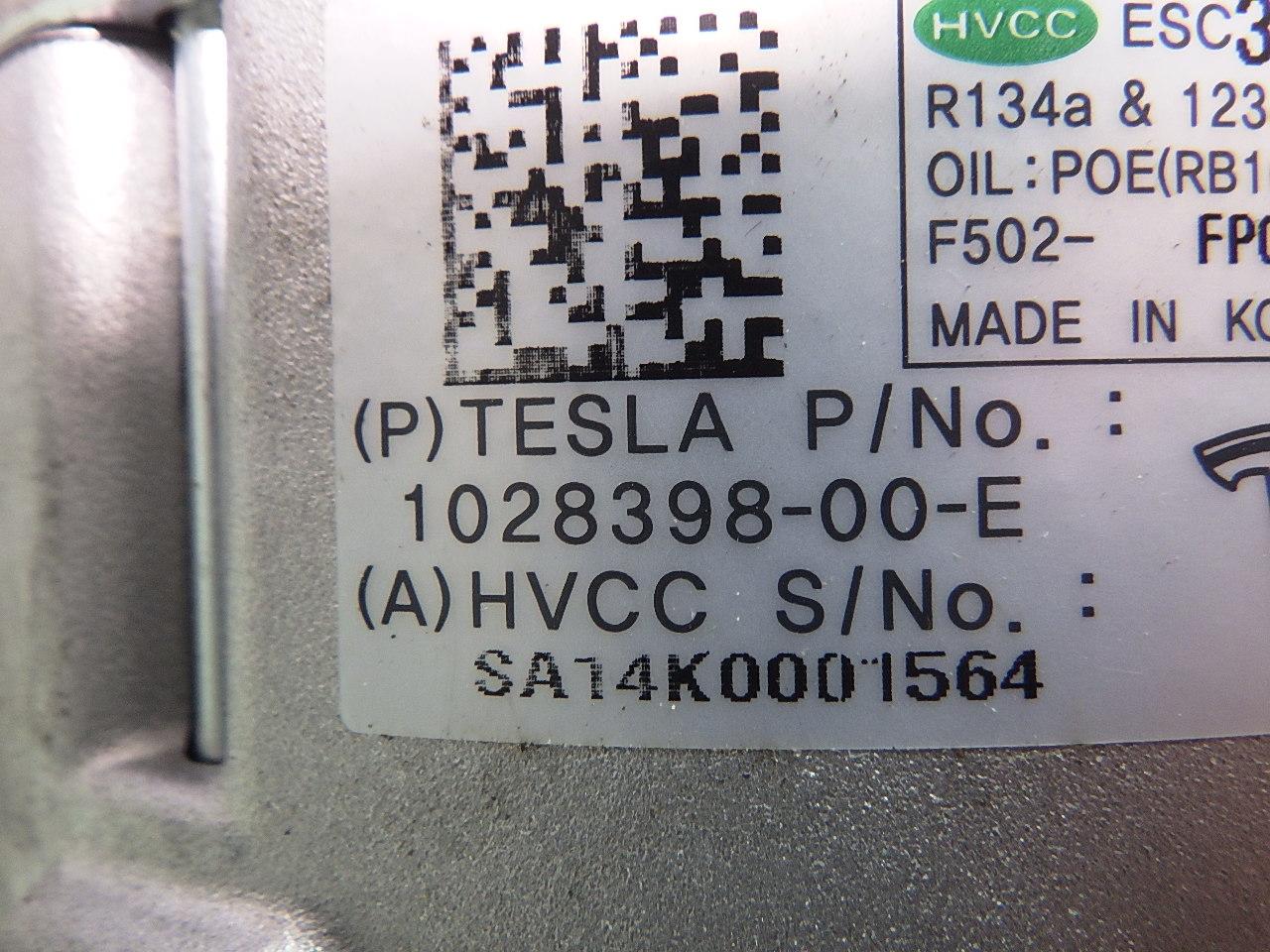 1028398-00-E Compressor a/C Air Conditioning Tesla Model S ...